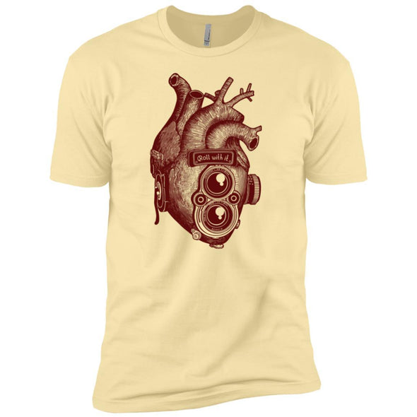 Roll With It TLR Heart T-Shirt - Shoot Film Co.