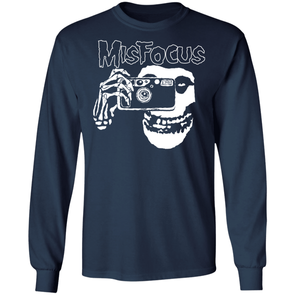Misfocus Misfits Parody Photographer Long Sleeve T-Shirt - Shoot Film Co.