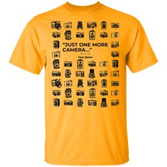 """One More Camera"" Personalized T-Shirt"