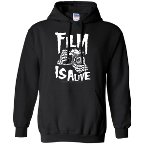Film is Alive Skele Hands Hoodie Pullover Sweatshirt - Shoot Film Co.