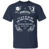 Light Capturing Oracle Ouija Board Front Print Short Sleeve T-Shirt - Shoot Film Co.