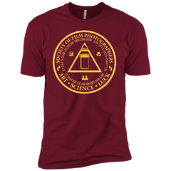Society of Film Photographers Film Photography Shirt in Dark Red