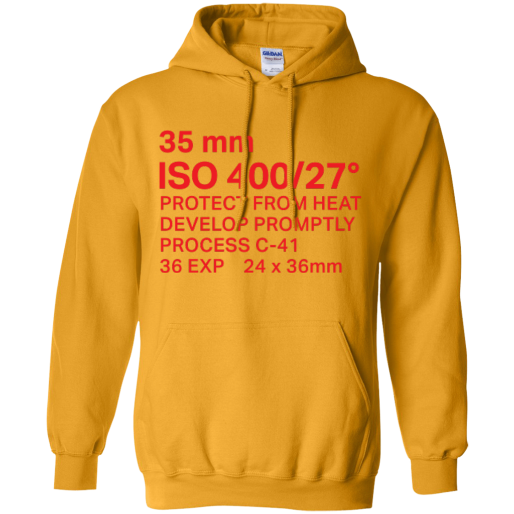 35mm Film Package Hoodie Pullover Sweatshirt