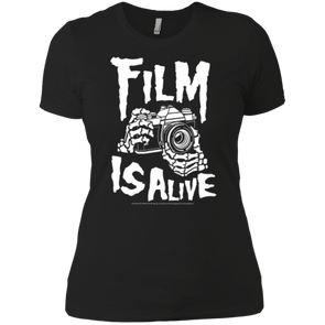 Film Is Alive Ladies' Boyfriend Tee - Shoot Film Co.