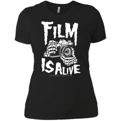 Film Is Alive Ladies' Boyfriend Tee