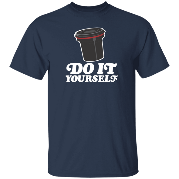 Do It Yourself Cotton Short Sleeve T-Shirt - Shoot Film Co.