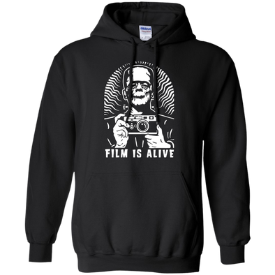 "Film is Alive ""Frank & His Camera"" Pullover Hoodie - Shoot Film Co."