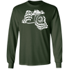 Skeleton Hands 35mm Film Camera SLR Long Sleeve Cotton T-Shirt - Shoot Film Co.