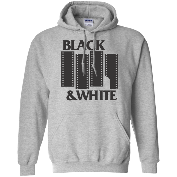Black & White Film Pullover Hoodie - Shoot Film Co.