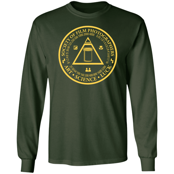 Society of Film Photographers Long Sleeve Cotton T-Shirt - Shoot Film Co.