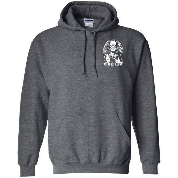 Frank and His Camera Pocket Logo Pullover Hoodie - Shoot Film Co.