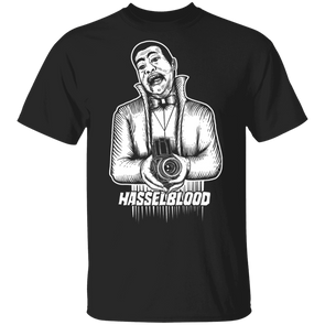 Hasselblood Vampire Film Camera Short Sleeve T-Shirt - Shoot Film Co.