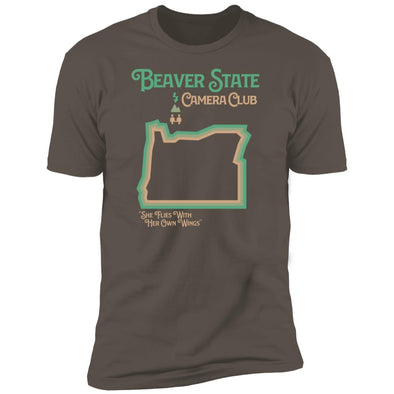 Oregon Beaver State State Camera Club T-Shirt - Shoot Film Co.