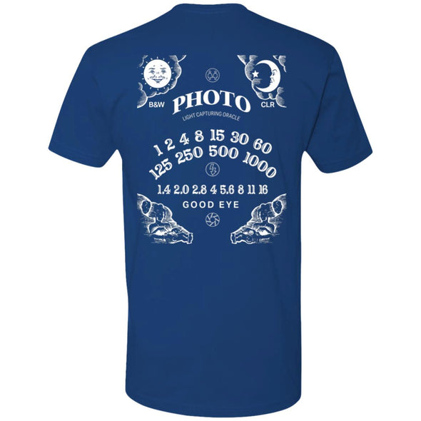 Light Capturing Oracle Ouija Board Premium Short Sleeve T-Shirt - Shoot Film Co.