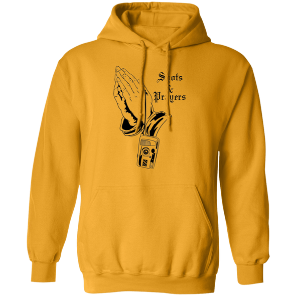 Shots and Prayers Pullover Hoodie Sweatshirt - Shoot Film Co.