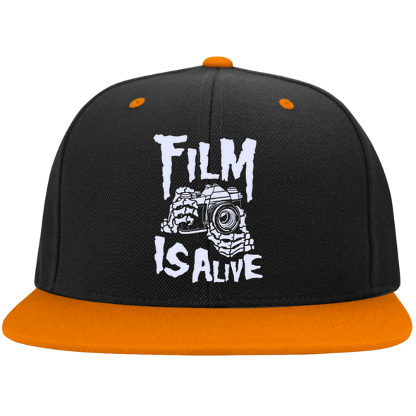 Film Is Alive Snapback Baseball Cap - Shoot Film Co.