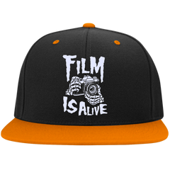 Film Is Alive Snapback Baseball Cap