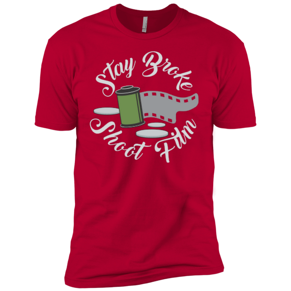 Stay Broke, Shoot Film Premium T-Shirt - Shoot Film Co.