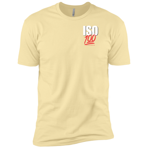 ISO 100 Left Chest Logo T-Shirt