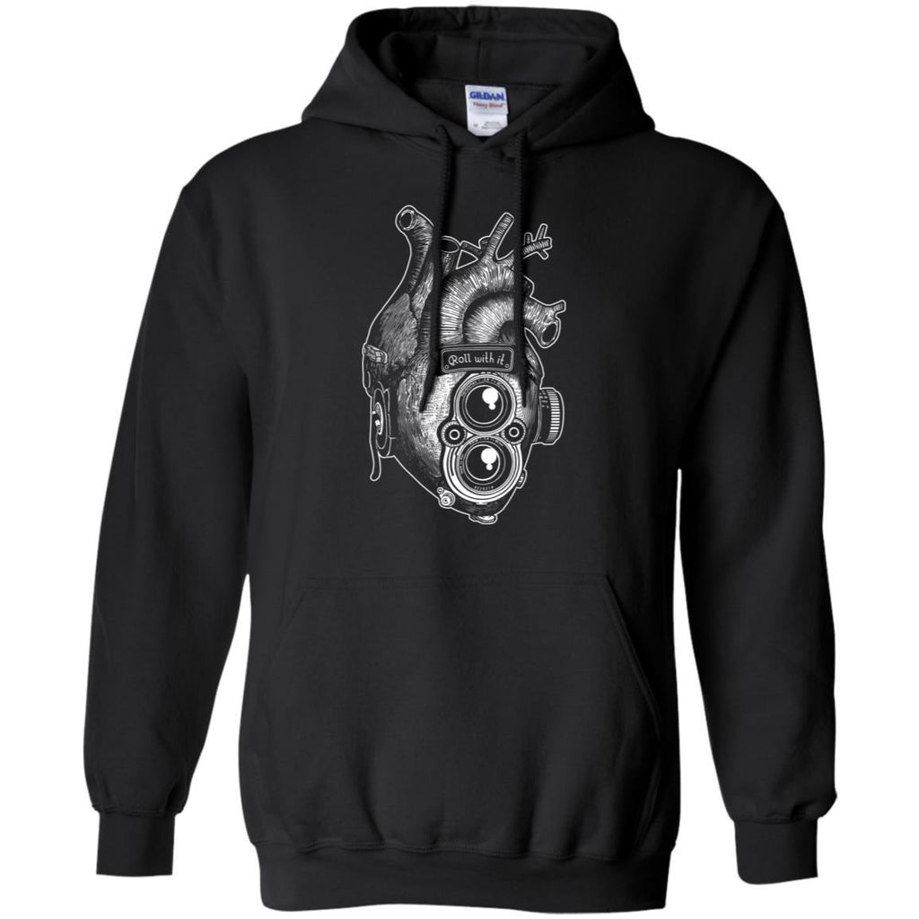 Roll With It TLR Heart Pullover Hoodie