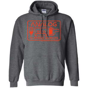 Analog Sciences Division Hoodie Pullover Sweatshirt - Shoot Film Co.