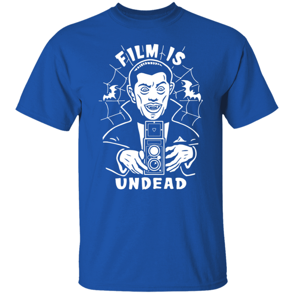 Film is Undead Short Sleeve Cotton T-Shirt - Shoot Film Co.