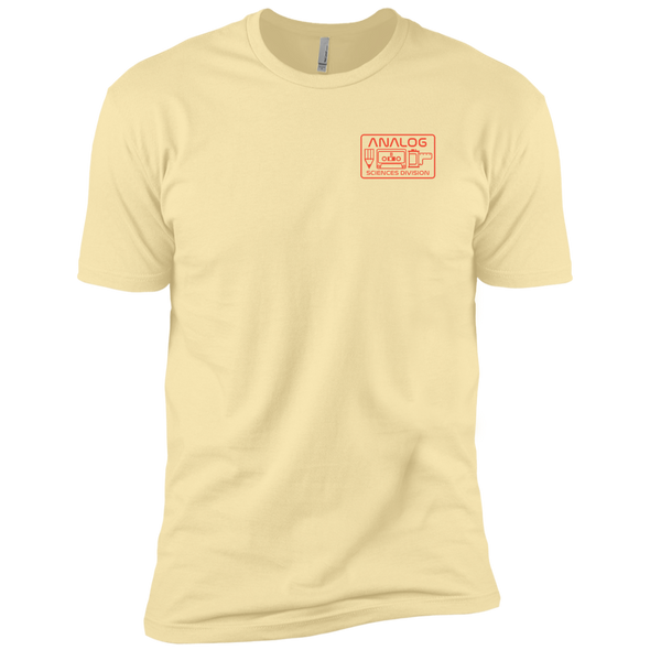 Analog Sciences Division Left Chest Logo T-Shirt - Shoot Film Co.