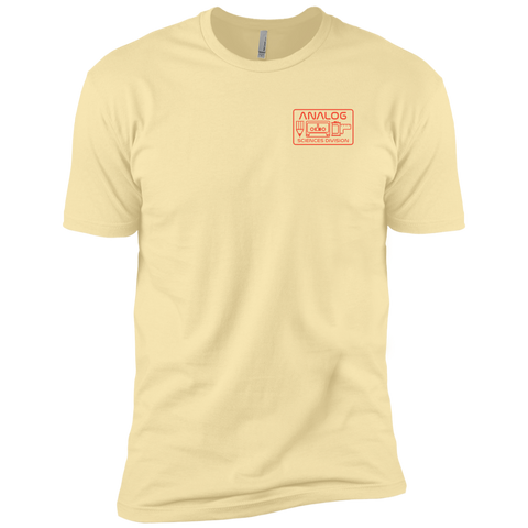 Analog Sciences Division Left Chest Logo T-Shirt