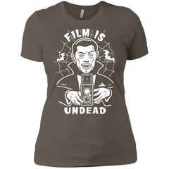 Film is Undead Ladies Short Sleeve T-Shirt