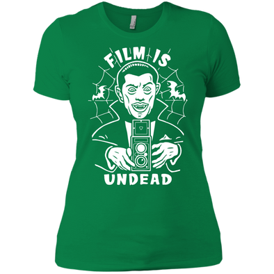 Film is Undead Ladies Short Sleeve T-Shirt - Shoot Film Co.