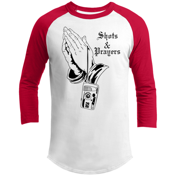 Shots and Prayers Sporty T-Shirt - Shoot Film Co.