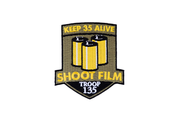 Keep 35 Alive Embroidered Patch - Shoot Film Co.