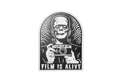 Film Is Alive Version 2 Vinyl Sticker - Shoot Film Co.