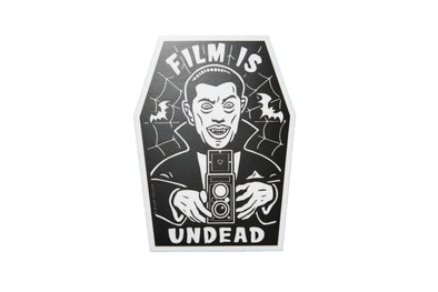 Film is UNDEAD Vinyl Sticker - Shoot Film Co.