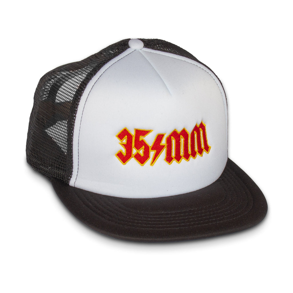 35mm Film Rock and Roll Mesh Back Trucker Cap