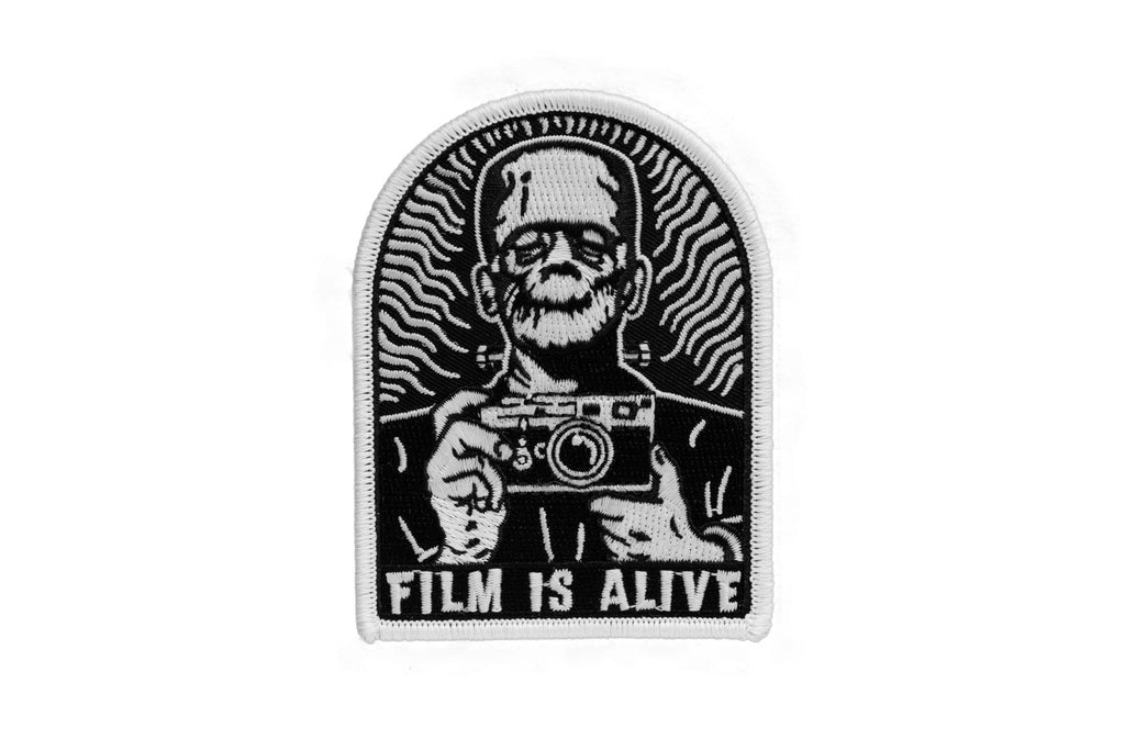 Film is Alive Version 2 Glow in the Dark Embroidered Patch