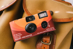 "Shoot Film Co. Brand ""Memory Preserver"" - One-Time Use 35mm Film Camera (Limited Edition of 125)"