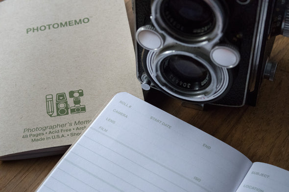 PhotoMemo Photographer's Memo Book 2 Pack - Shoot Film Co.