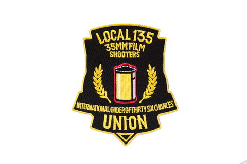 Film Shooters Union - Local 135 35mm Film Shooters Patch