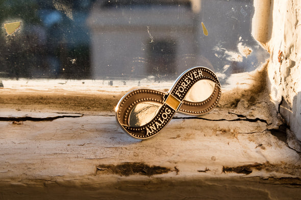 Analog Forever Lapel Pin - Shoot Film Co.