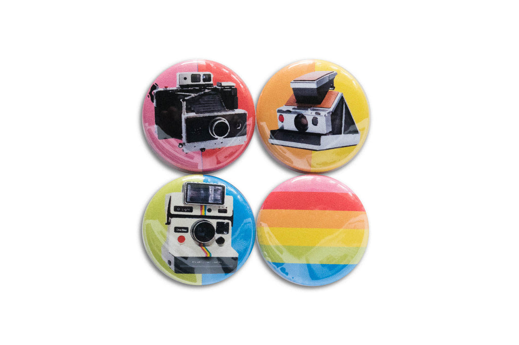 Polaroid Gang 1-Inch Button Set