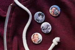 Golden Age Cam Glam 1-Inch Button Set