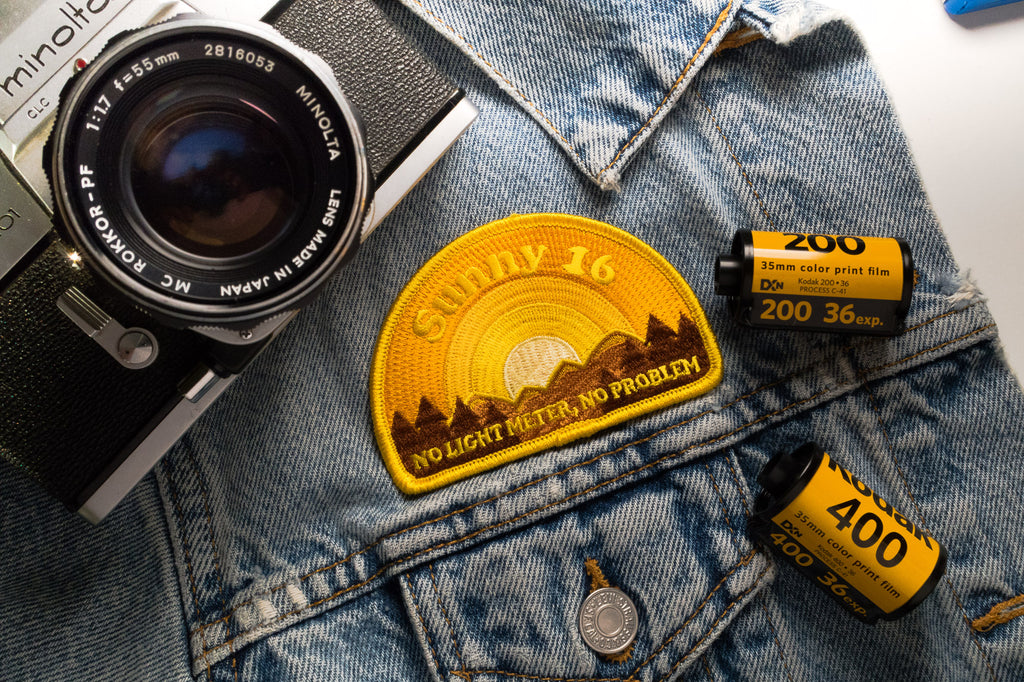 Sunny 16 Version 2 Embroidered Patch