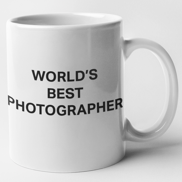 World's Best Photographer 11oz White Ceramic Mug - Shoot Film Co.
