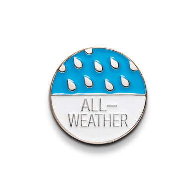 "Olympus Stylus Epic ""All Weather"" Lapel Pin - Shoot Film Co."