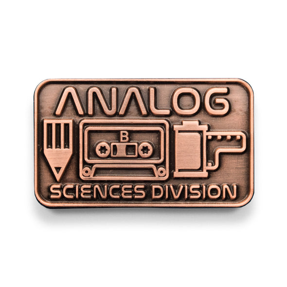 Analog Sciences Division Lapel Pin - Shoot Film Co.