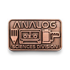Analog Sciences Division Lapel Pin