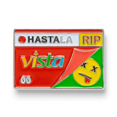 Hasta La Vista Lapel Pin - Shoot Film Co.