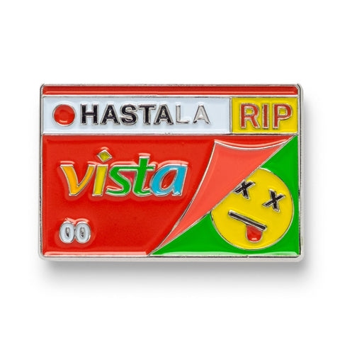 Hasta La Vista Lapel Pin