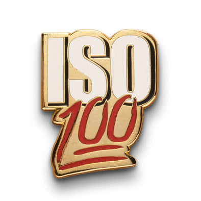 ISO 100 Lapel Pin - Shoot Film Co.